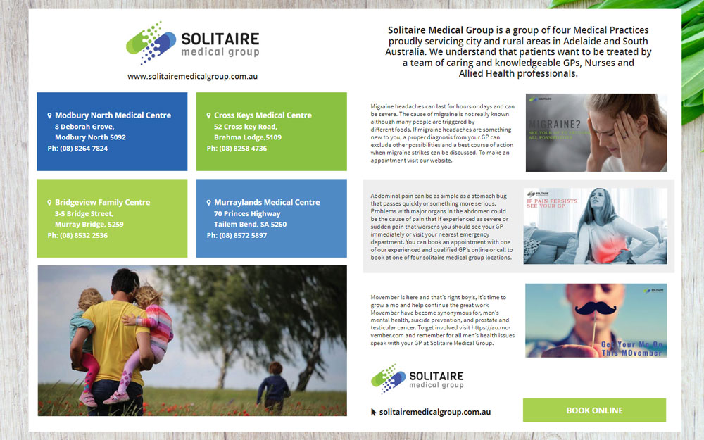 Thrive Magazine Issue 3 with Solitaire Medical Group Feature