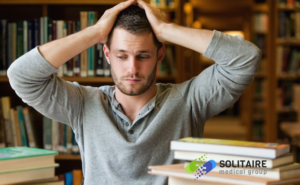 Feeling tired or facing difficulty in concentrating are symptoms of iron deficiency