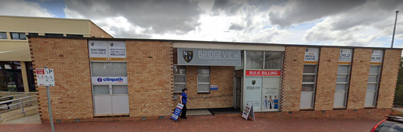 Exterior front of Bridgeview Family Practice which is a bulk billing medical practice in Murray Bridge